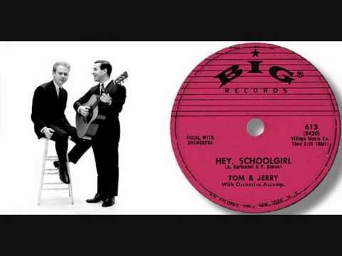 Tekst piosenki Simon and Garfunkel - Hey, Schoolgirl po polsku