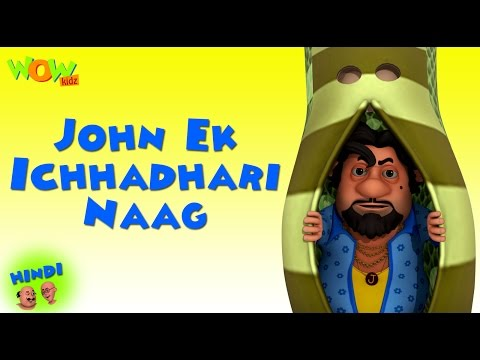 John Ek Ichhadhari Naag | Motu Patlu In Hindi | 3D Animation Cartoon For Kids | As On Nickelodeon