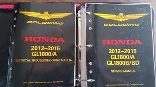 8. Honda Goldwing Service Manual HO61MCA66 (Must Have Product)