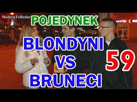 Matura To Bzdura - BLONDYNI vs BRUNECI - POJEDYNEK NA WIEDZĘ odc. 59