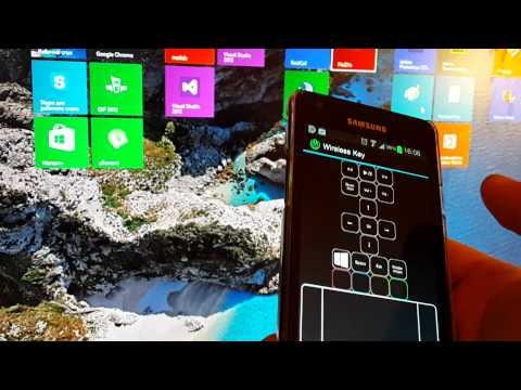 Video of Wireless Key control panel