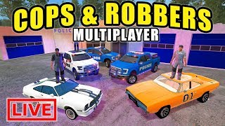 Nonton Cops   Robbers Vs Subscribers W  Big Police Chase Live    Farming Simulator 2017 Film Subtitle Indonesia Streaming Movie Download
