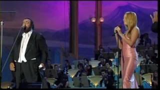 mariah carey and luciano pavarotti - hero