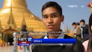 Video NET17 - Pagoda Uppatasanti terbesar magnet pariwisata di Myanmar MP3, 3GP, MP4, WEBM, AVI, FLV November 2017