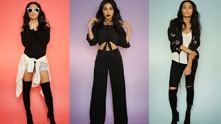 OUTFIT IDEAS: HOW TO STYLE BASIC BLACK by Teni Panosian