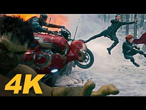 AVENGERS 2: AGE OF ULTRON Trailer 3 (2015) 4K ULTRA HD