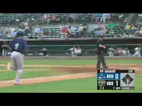 Asheville's Boswell swats solo shot