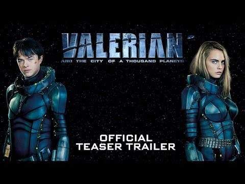 Valerian and the City of a Thousand Planets Teaser
