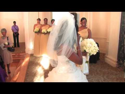 """Download First Time The Bride & Groom Seeing Each Other"""" jameelah and Rapheal"""""""