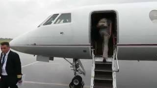 Video Aerovision Dassault Falcon 50 - Flight from Valence-Chabeuil (VAF) to Paris Le Bourget (LBG), France MP3, 3GP, MP4, WEBM, AVI, FLV Juni 2018