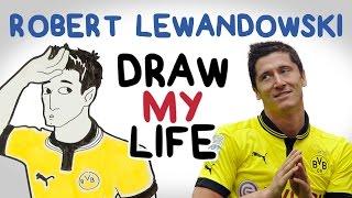 Robert Lewandowski | Draw My Life by Football Daily
