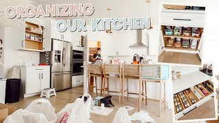 we got our kitchen professionally organized + full tour of everything! by Aspyn + Parker