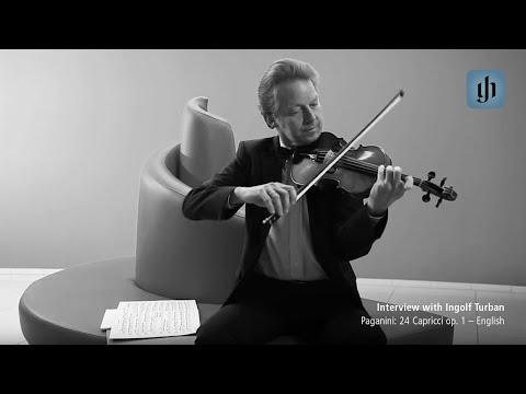 Video - Paganini, Niccolò - 24 Caprices, Op 1 - Violin solo - Urtext Edition - Published by G Henle Verlag | 0160 014