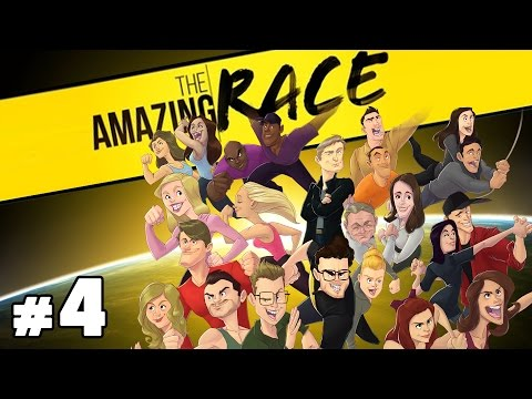 The Amazing Race Special Podcast with Burnie & Ashley #4   Rooster Teeth