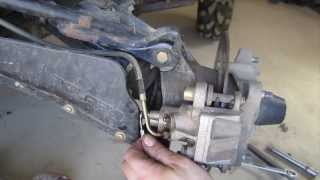 6. How to Bleed ATV Brakes - One Person Technique - Polaris Sportsman and Many Four Wheelers