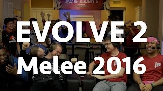 EVOLVE 2 – A Melee 2016 Compilation featuring all 27 Nationals!