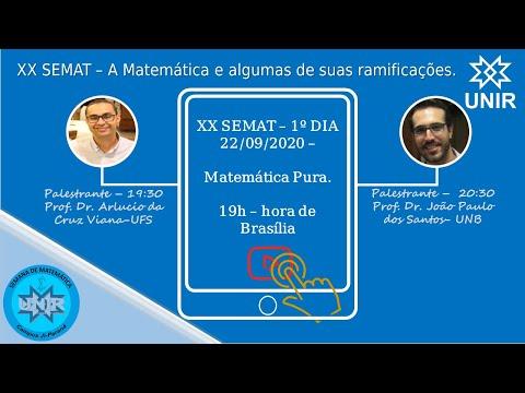 XX SEMAT - DIA 01