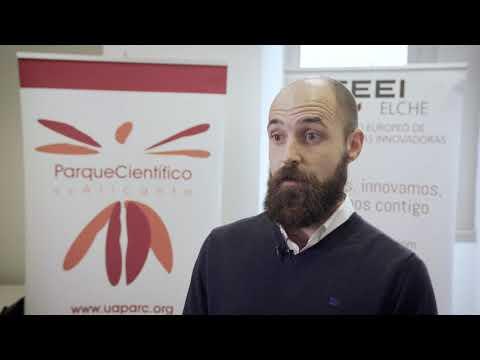 Pedro Luis Salazar de Elecgy Solutions en el HUB de Innovación Abierta[;;;][;;;]
