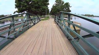 Oshkosh (WI) United States  city pictures gallery : Virtual Treadmill Walk - Menominee Park, Oshkosh Wisconsin USA