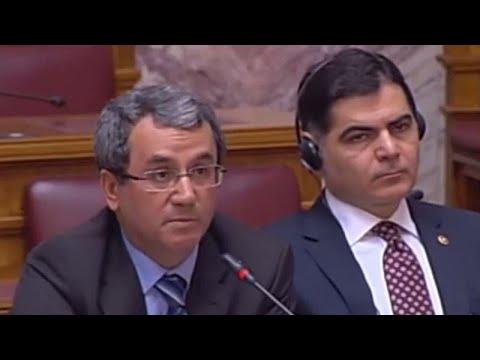 Προκλητική τοποθέτηση Τούρκου βουλευτή μέσα στην ελληνική Βουλή…