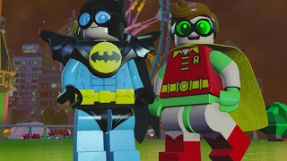 LEGO Dimensions - Robin / Nightwing Character Showcase (LEGO Batman Movie World)