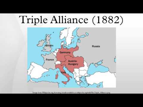 the formation of the triple alliance of germany austria hungary and italy in europe Italy, also, is bound to the triple alliance by her true interests the antagonism to austria, which has run through italian history, will diminish when the needs of expansion in other spheres, and of creating a natural channel for the increasing population, are fully recognised by italy.