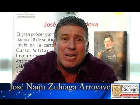 Concejal rionegrero José Naún Zuluaga