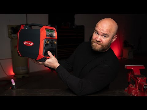 Powerful TINY TIG Welder! Fronius TransTig 210 Review