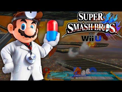 dr. mario wii u smash