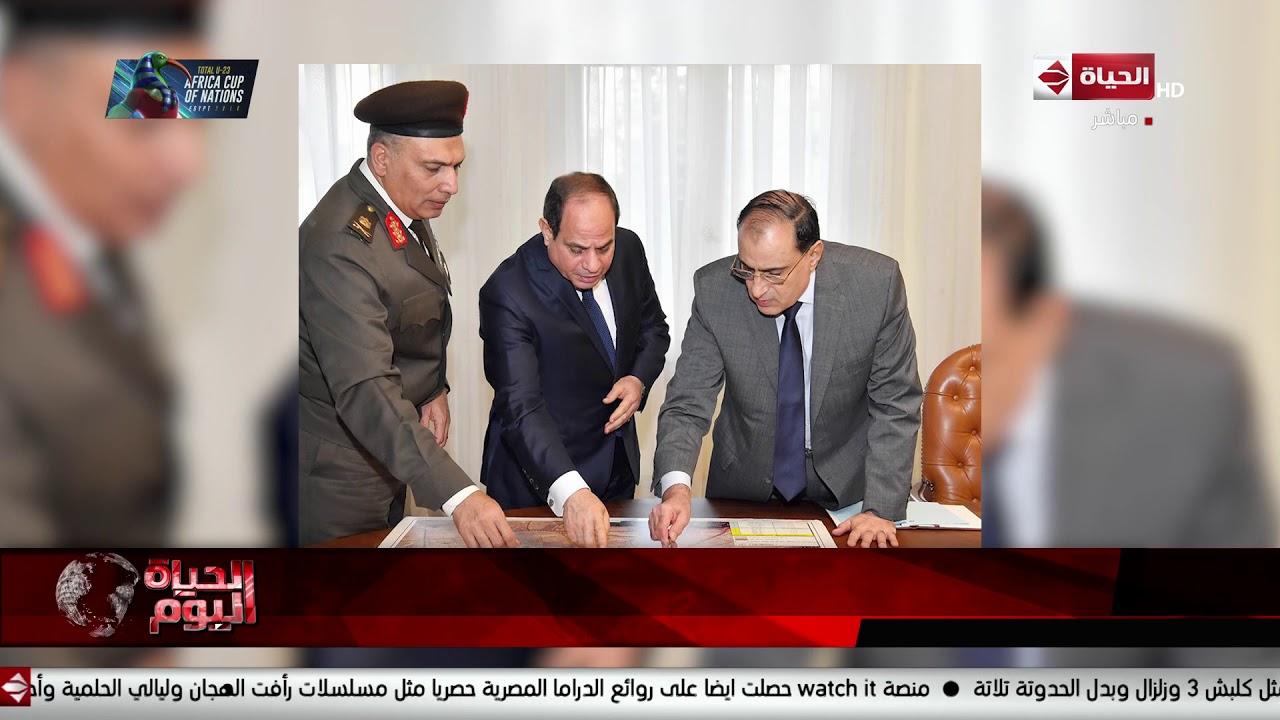السيسي يجتمع مع رئيس الهيئة الهندسية للقوات المسلحة لاستعراض الموقف التنفيذي لعدد من المشروعات
