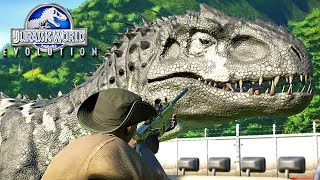 Jurassic World Evolution - Fim Do INDOMINUS REX!, NOVO PREDADOR No PARQUE  (#27) (PT-BR)