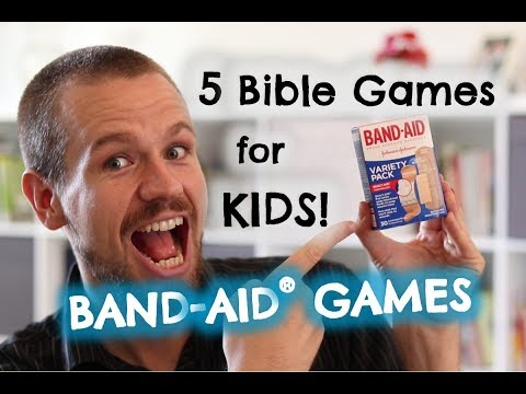 Best Bible Games for Kids: 5 Band-Aid Games!