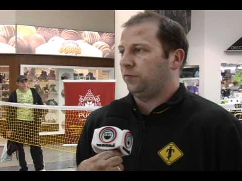 FootsacK em Toledo Pr - Matéria da TV Tarobá Cascavel - Canal Geral