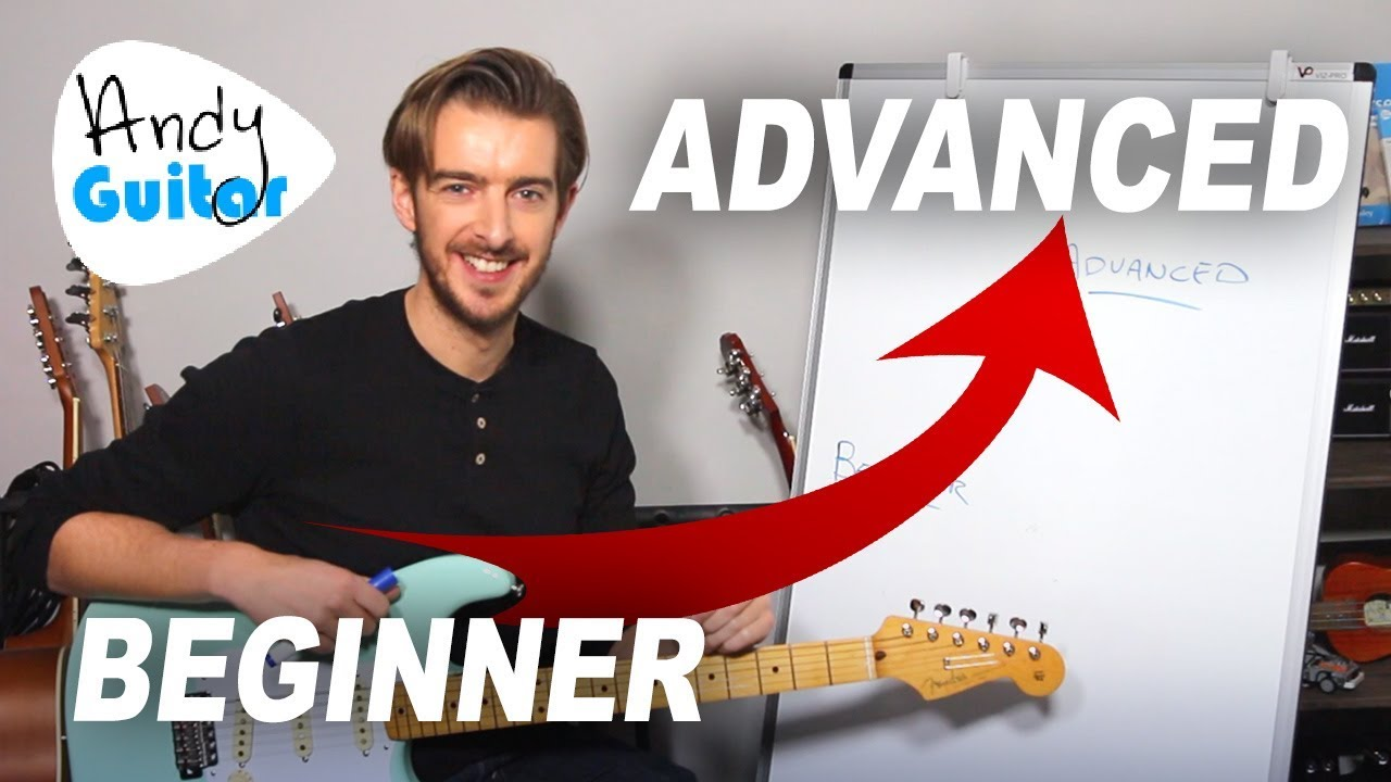 Beginner to Advanced Stages of Guitar EXPLAINED