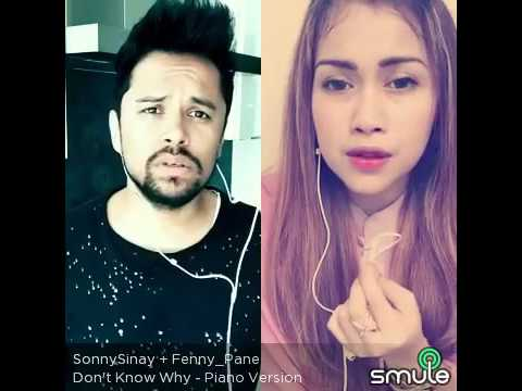 Don't Know Why (cover) By Fennypane - Smule Sing! App - Smule Karaoke - Myduet - Norah Jones