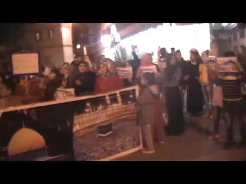 وقفة احتجاجية ضد حضور الصهاينة بمراكش
