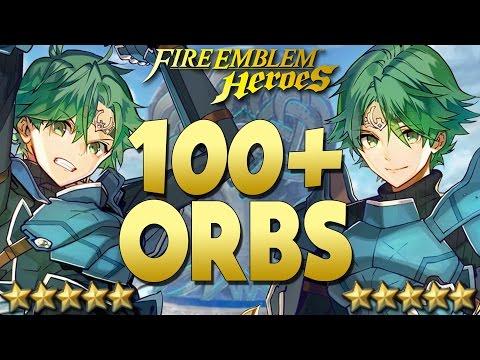 Fire Emblem Heroes - Part 44 | 100+ ORBS For Alm!