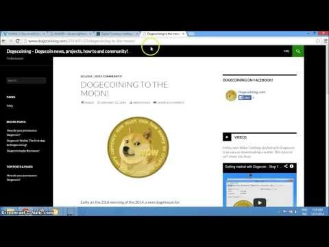 Buy Dogecoin with USD, EUR or GBP (Using Paypal or Credit Card) Part 1