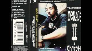 Streiht Up Menace (LP Instrumental) - MC Eiht [ LP ] --((HQ))-- DIGITALLY RESTORED