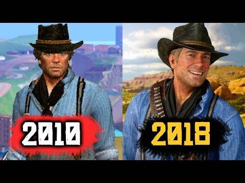 What Red Dead Redemption 2 Looked Like in 2010 (RDR2 Beta Footage)