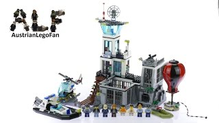 Lego City 60130 Prison Island - Lego Speed Build Review