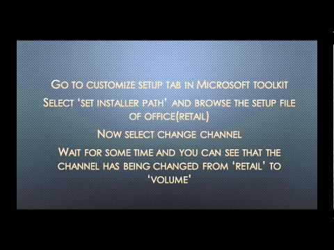 MS Office 2013 activation using Microsoft toolkit:error solved