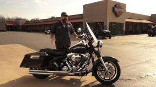 7. 2011 FLHR Road King with 110CI Screamin' Eagle Engine! Bike of the Week!