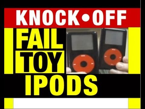 ipod video - Funny Video: Fake Apple iPod, Iphone, itouch Flooding Into the USA! Investigative Funny lol Video News Report and Product Review By Fail Toys Reviewer Mike M...