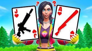 SEASON 9 BLACKJACK Card Game *NEW* Game Mode in Fortnite Battle Royale