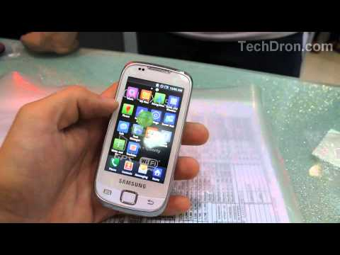 Samsung Galaxy 551 (I5510) Preview