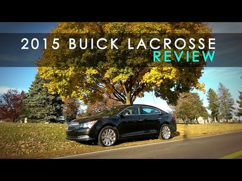 The Confusing 2015 Buick Lacrosse Review