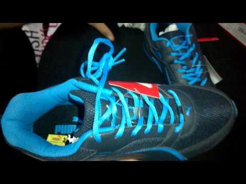 UNBOXING PUMA Men Black Atom III DP Running Shoes