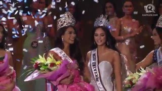 Medina Philippines  city images : Maxine Medina is crowned Miss Universe Philippines 2016