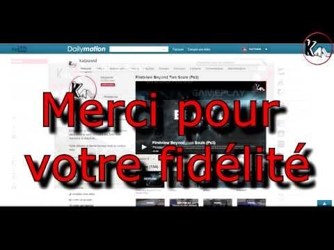 Vidéo spéciale anniversaire 1 an Youtube et Dailymotion